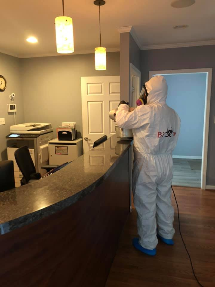 COVID-19 SANITIZING & DISINFECTING CLEANING SERVICES